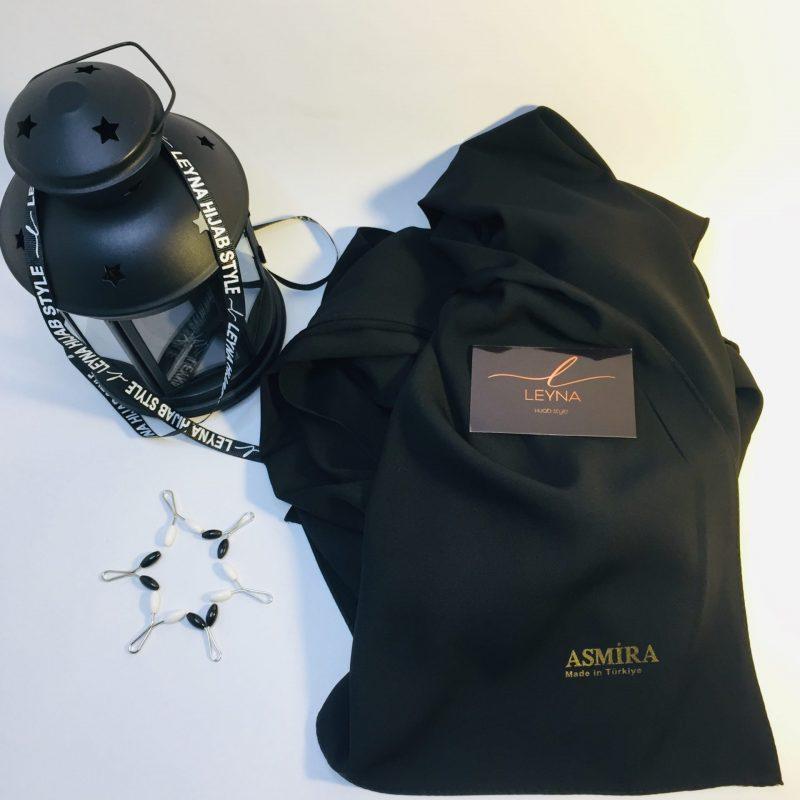 hijab asmira noir