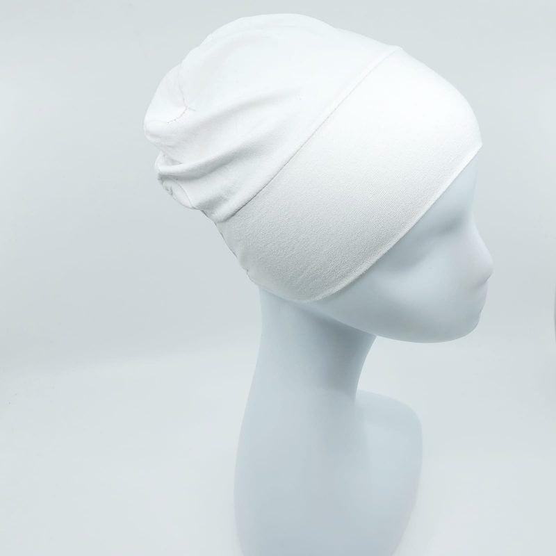 bonnet fermé sedef blanc