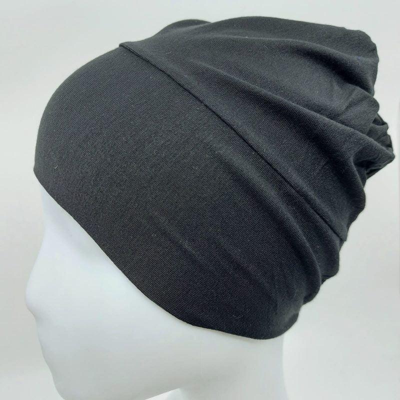 bonnet sedef fermé noir