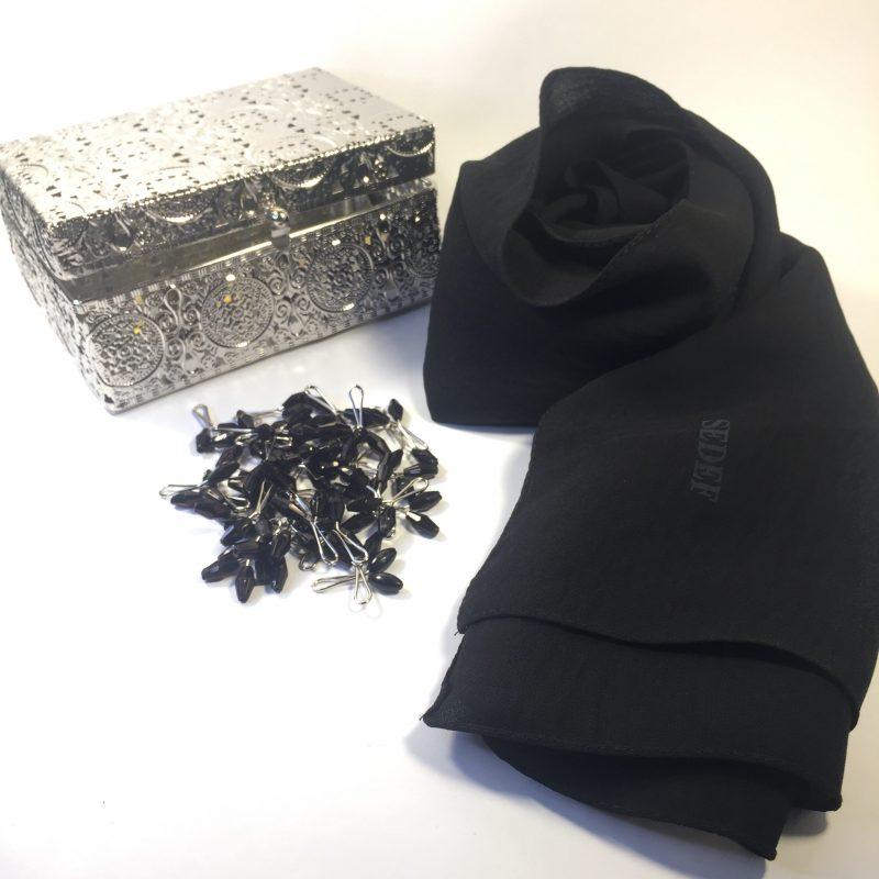 hijab jazz sedef noir