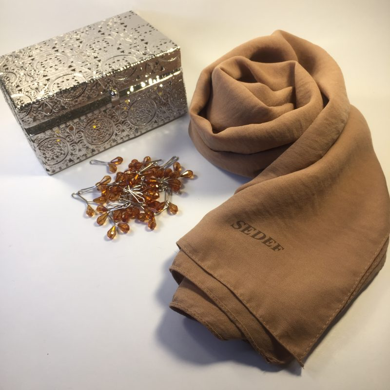 hijab jazz Sedef sable chaud