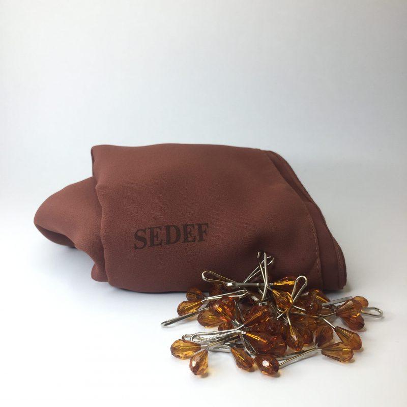 hijab sedef crêpe de luxe