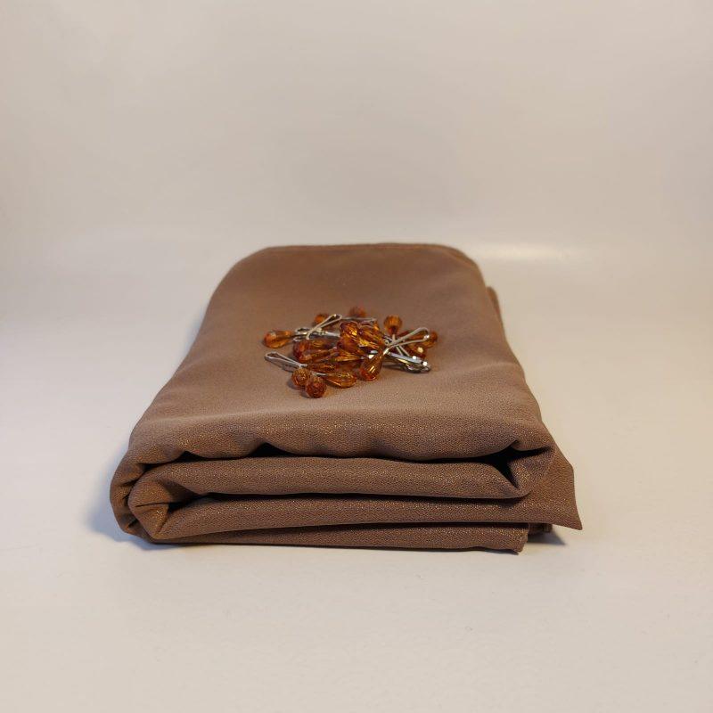 soie de médine brun