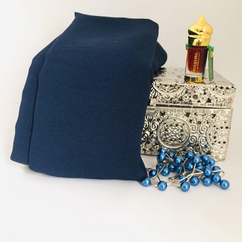 hijab jazz hicabistan bleu nuit