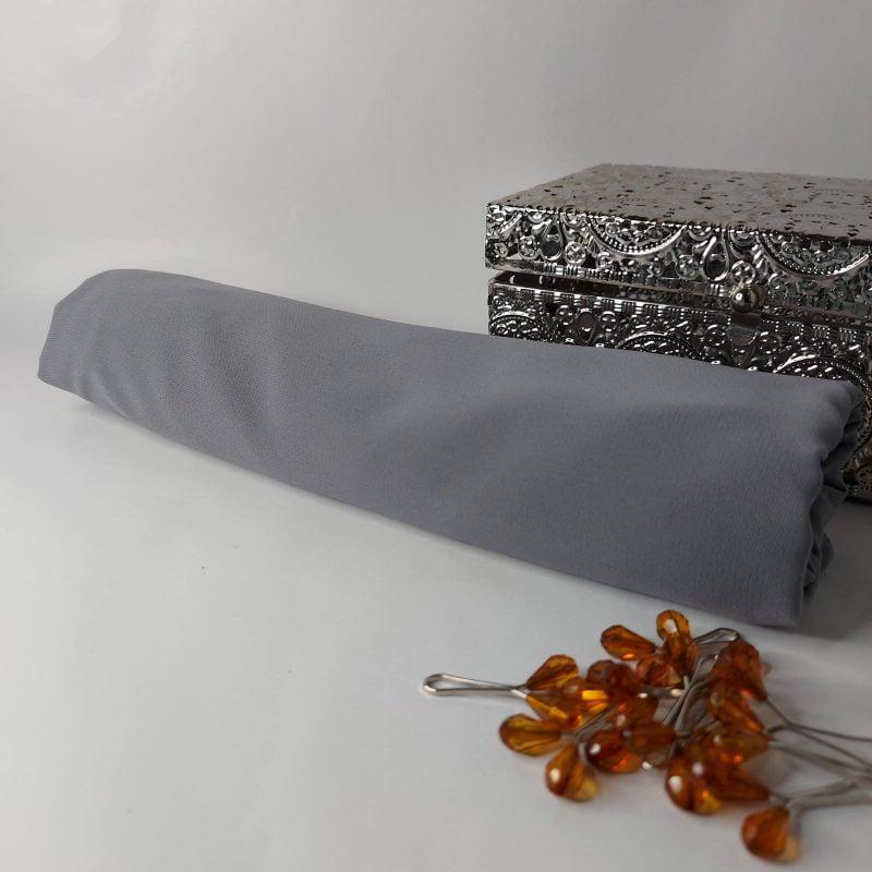 soie de médine gris clair