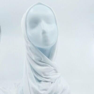 Hijab Jersey SEDEF - Blanc
