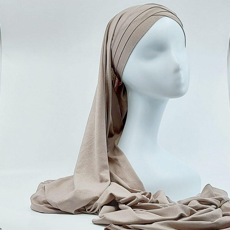 hijab jersey a nouer sedef