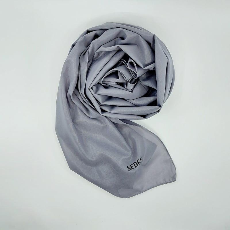 hijab-sedef-gris-cuir