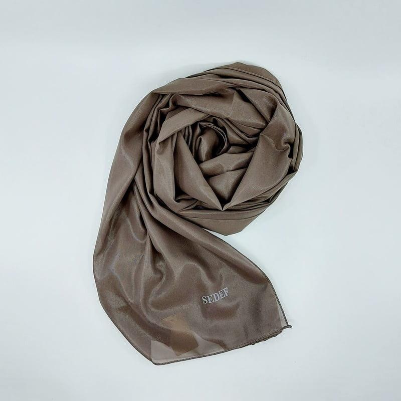 hijab-sedef-marron-bronze