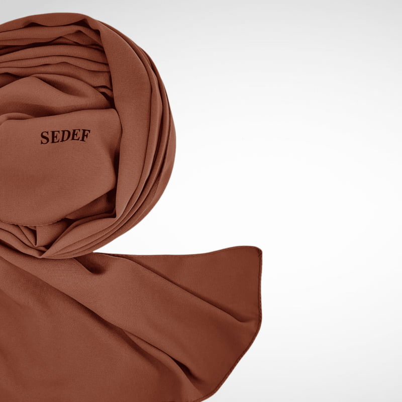 hijab-sedef-marron-glace