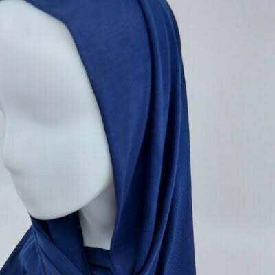hijab sedef jersey bleu nuit