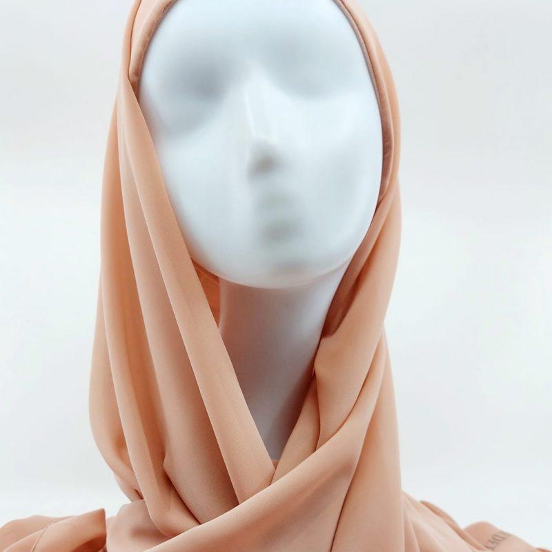 hijab mousseline a enfiler sedef