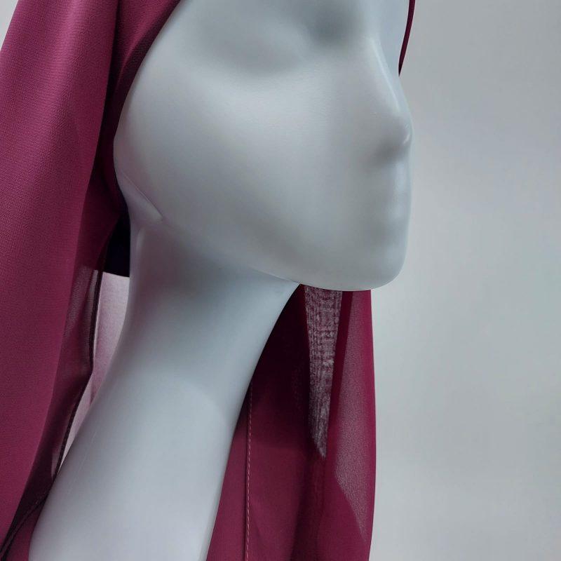 hijab sedef à enfiler violet