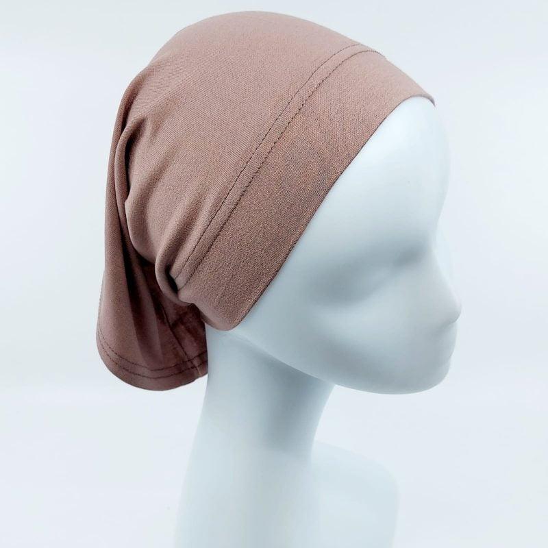bonnet tube sedef mauve foncé