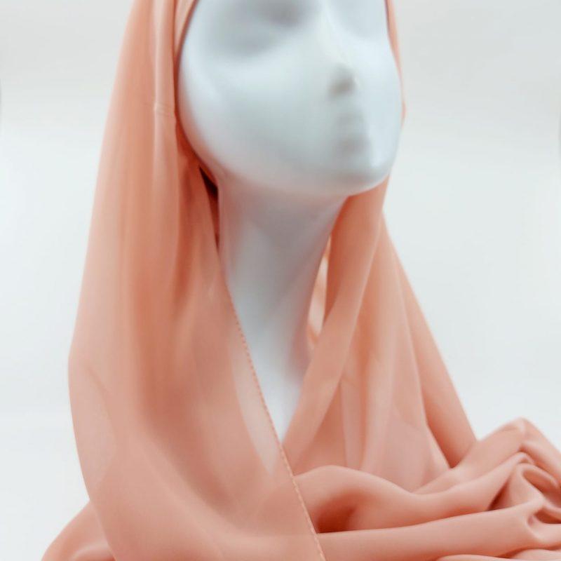 hijab mousseline sedef