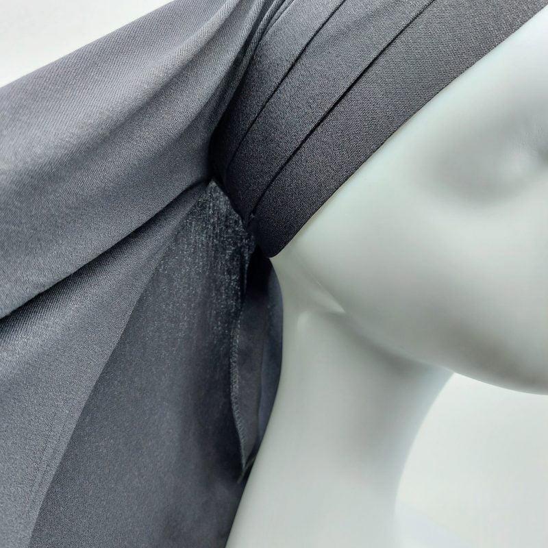 hijab sedef à nouer jersey gris foncé