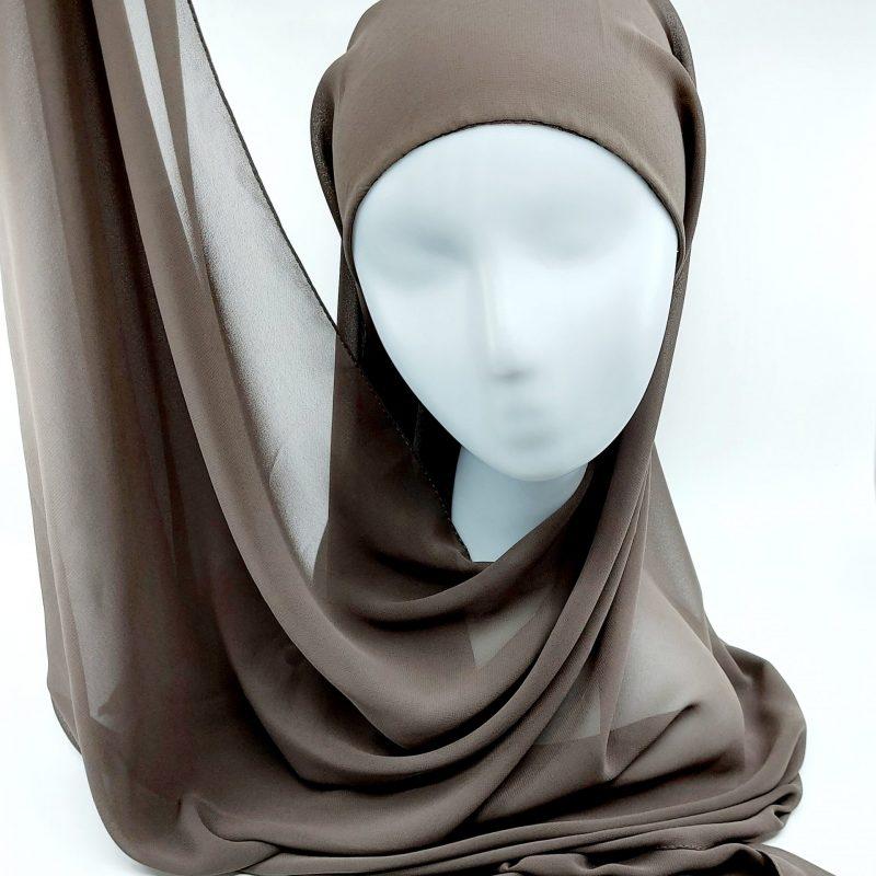 hijab sedef mousseline