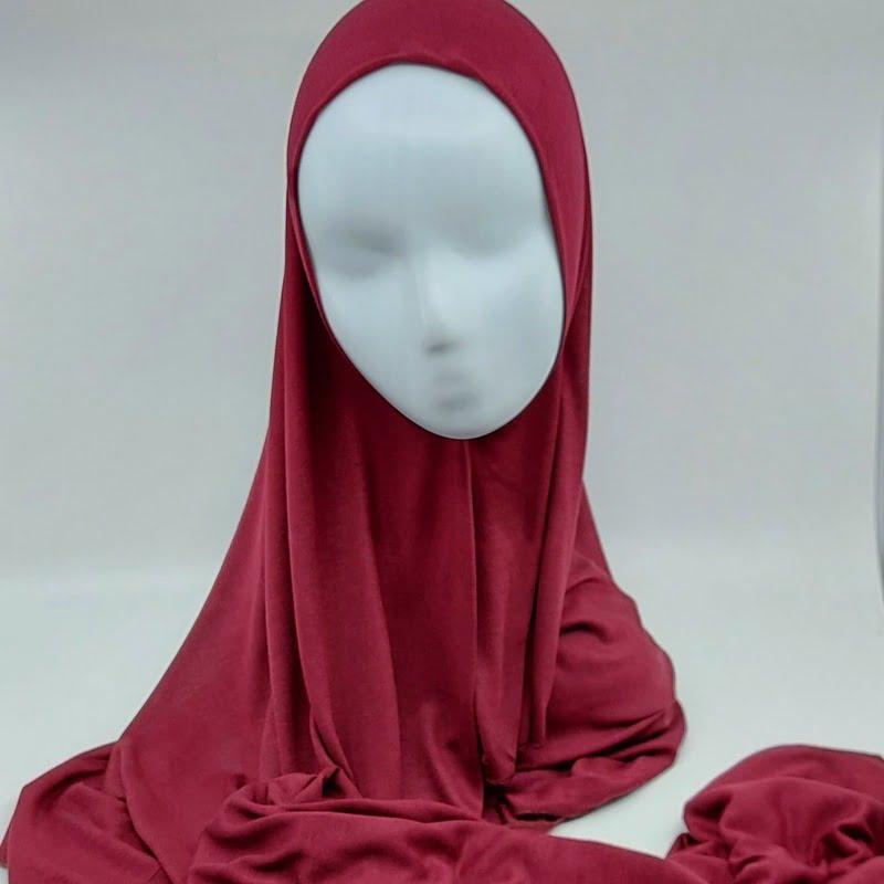hijab jersey Sedef bordeaux