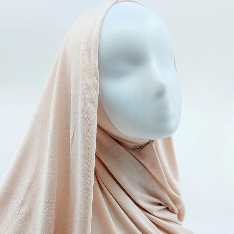 hijab jersey Sedef rose clair